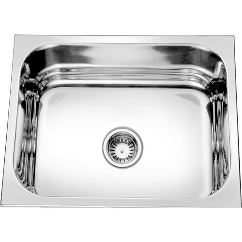Crystal Stainless Steel Single Bowl Kitchen Sink Rs 650 Piece