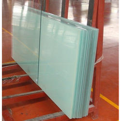 Toughened Plain Glass, Thickness: 5-19 mm, Shape: Rectangle