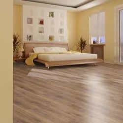 Brown Wooden PVC Flooring, For Industrial And Residential Use
