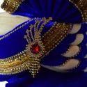 Velvet Blue Safa