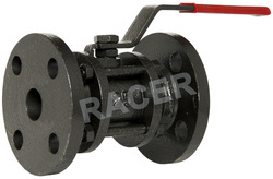Flanged End Cast Iron Ball Valve