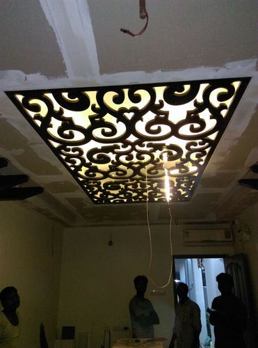 Mdf Jali Ceiling Grill At Rs 350 Square Feet Wooden