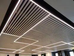 Metal Ceiling - 50 X 50 Baffle Type