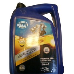Hella Four Wheeler Engine Oil, Packaging Size: 3.5 Liter, Model Name/Number: Saff Guard