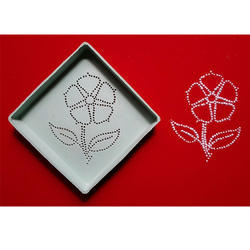 Flower Dotted Rangoli Design