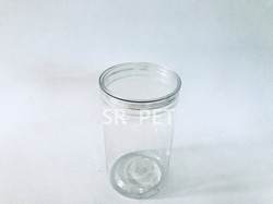 Clear Cap Pet Jar