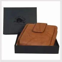 Jacky Bull Traveller Men Leather Wallet