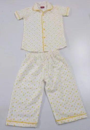 Pure Cotton Kids Night Wears