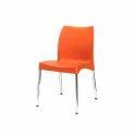 Orange Color Restaurant Chair