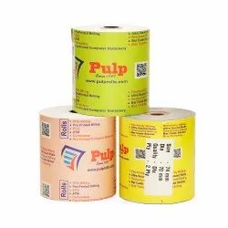 PULP Dot Matrix Roll Width:74 mm Diameter:70mm 2 Ply