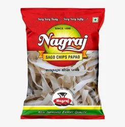 Nagraj starch Sago chips and Ring Papad 200gm