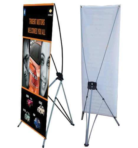 Srisai Creation Offering Multi Colour X Banner Stand Size 6 3 At Rs 850 Piece In Pune Maharashtra Get Best Price And Read About Company