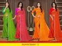 Saroj Present Jhumta Savan Vol 1 Georgette Lehariya Saree