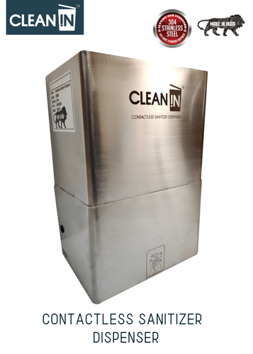 Clean-In Automatic Sanitzer Dispenser Wall Mounted Model Capacity: 6 L