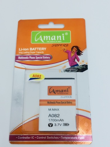 Amani Battery For Micromax A082