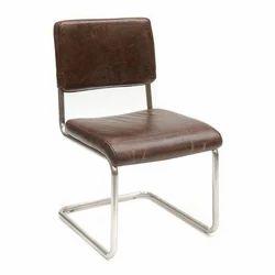 Armless Leather Chair