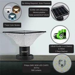 20 LED Solar Light for Pillar or Gate