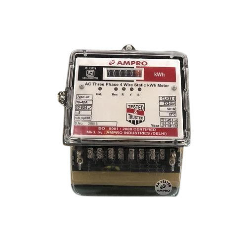 Ampro Three Phase Energy Electric Meter