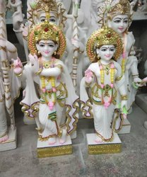 Lord Marble Radha Krishna Murti
