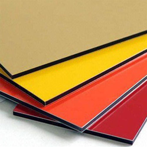 FLEXIBOND Plain aluminium Composite Panel