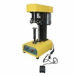 Semi Tin Cap Sealing Machine