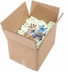 Double Wall 5 Ply Rectangular Packaging Carton Boxes With Capacity Upto 10 Kgs