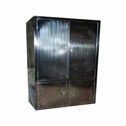 Stainless Steel Cupboard, Size: 3 x 2 x 5.5 feet