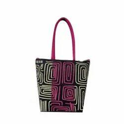 Jute Fancy Tote Bag