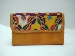 Embroidered Female Clutch Bag