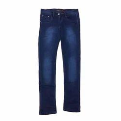 Plain Regular Fit Men Shaded Jeans