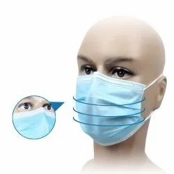 Loop Disposable 3 Ply Face Mask