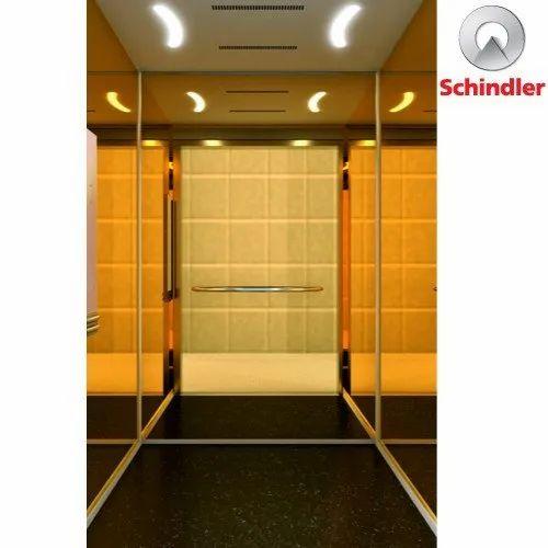 Schindler 3300 Passenger Elevator, Capacity: 6-16 Passengers