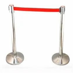 SS Stanchion With Belt