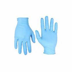 Blue Nitrile Household Gloves