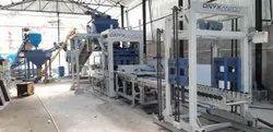 Aneco 15V Automatic Interlocking Concrete Brick Machine