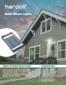 10W COB Solar LED Light or Solar Street Lighting System