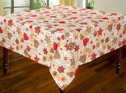 Christmas Print Tablecloth