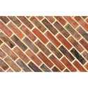 Clay Rectangular Veneer Brick Tile, 15-20mm, For Interior And Exterior