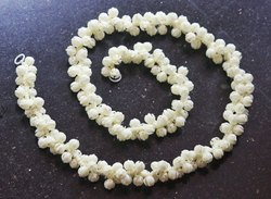 Plastic Beads Jasmine Decoration Garland