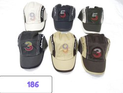 Trendy Looks Embroidery Caps and Hats, Code 186