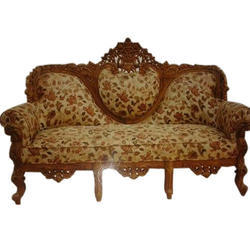 Lovely Wooden Carved Sofa Set