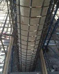 Column Retrofitting and Jacketing