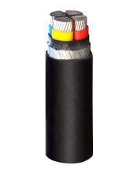 SCI Aluminum Conductor Xlpe Insulated Pvc Sheathed Armoured Cable of size 4c x 25 sq mm