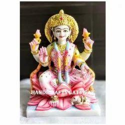 Pure Makrana Marble Laxmi Mata Statue