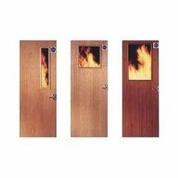Mild Steel Hinged Fire Resistant Door, Rs 13500 /set, Magtech ... on