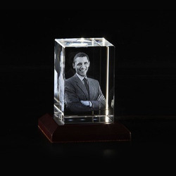 3D Photo Crystal- Box Shaped