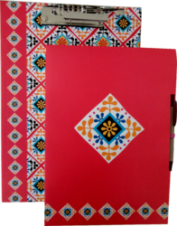 Clip Board With Note Pad & Pen