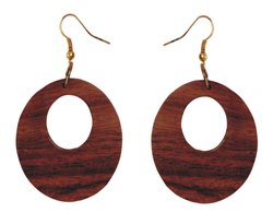 Wooden Women Stylish Earrings