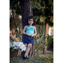 Kids Girls Top with Skirt