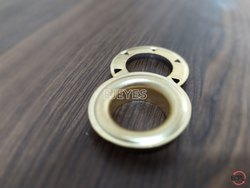 No. 30 Brass Eyelets & Teeth Washers Golden